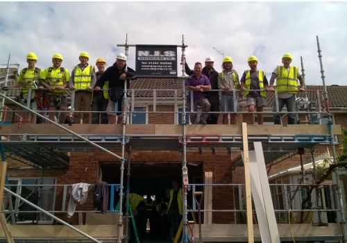 NJS Team helped out DIY SOS in Yapton, West Sussex